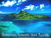 Solomon islands and Tuvalu Tour