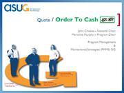 order to cash PPT