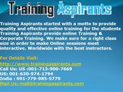 Oracle Online Training & Placement on all  IT Courses at TA.