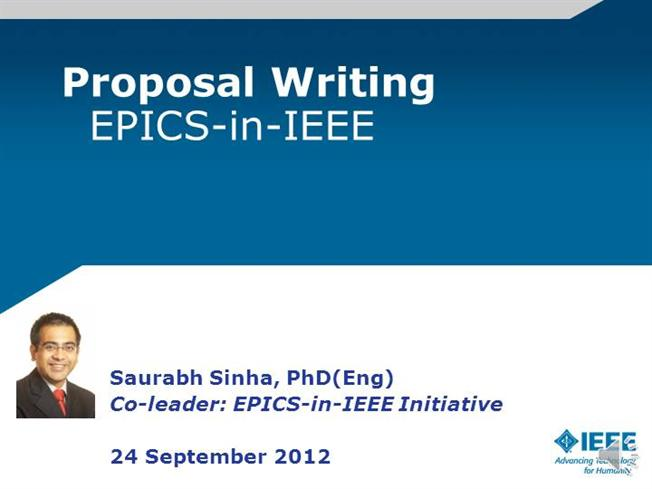 proposal writing epics in ieee authorstream