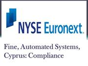talinec holdings ltd cyprus - NYSE Euronext Fine, Automated Systems, C
