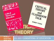 CRITICAL THEORY LATEST VERSION