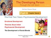 DP Chapter 7a  First Two Years Psychosocial Development NARRATED