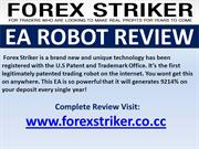 Forex Striker EA Robot Review