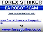Forex Striker EA Robot Scam