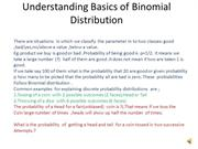 Understanding Basics of Binomial Distribution
