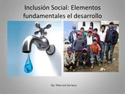Inclusin Social: Elementos fundamentales el desarrollo