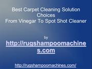 Best Carpet Cleaning Solution For Carpet Pre Treatment