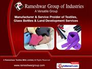 Rameshwar Textiles Mills Limited. Gujarat India