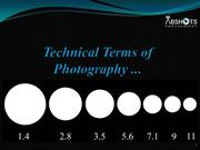 Photography Technical Terms