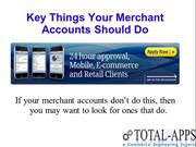Credit Card Processing Advice