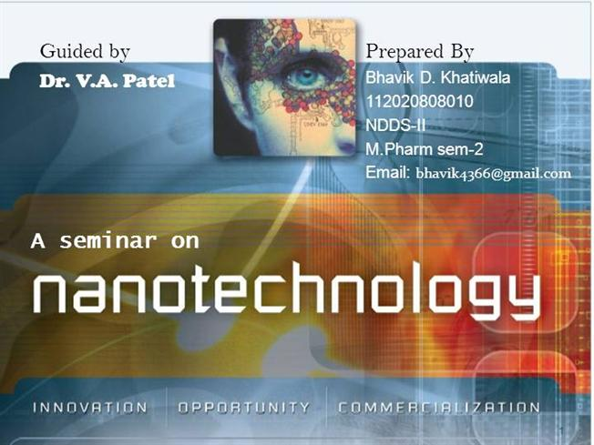 nanotechnology seminar |authorstream, Presentation templates