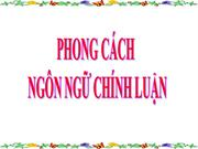 NV11 T108 PHONG CACH NGON NGU CHINH LUAN