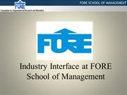 FORE INDUSTRY-INTERFACE