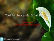 Tool For Successful Small Business