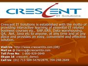 SAP NETWEAVER Online Training and Placement Support