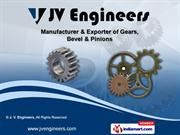 Helical Gear by J. V. Engineers, New Delhi