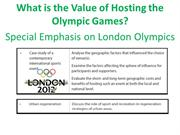what is the value of hosting olympic games