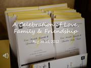 A Celebration of Love, Family & Friendship