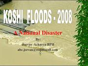 koshi flood 2008