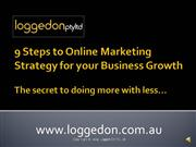 9 Steps to Online Marketing Strategy