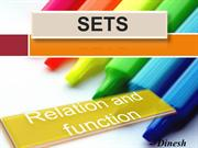 Sets and Relations & Functions