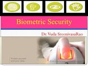 Biometric Security-Introduction