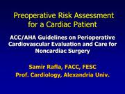 0 samir Rafla- Preoperative Risk Assessment for a Cardiac Patient-abbr