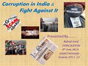 corruption in india- Rabi
