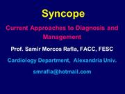Samir Rafla - SYNCOPE current management-abbreviated