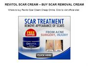 REVITOL SCAR CREAM – BUY SCAR REMOVAL CREAM