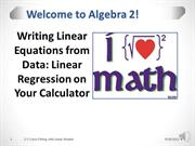 2-7 - Curve Fitting with Linear Models