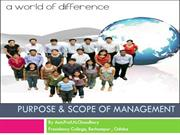 scope of management