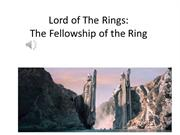 Fellowship of the Ring Book Trailer