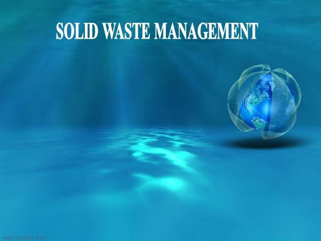 Effects Solid Waste Management authorSTREAM – Waste Management Ppt
