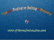 Real estate Guidelines for Buy or Sell a Property