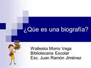 Qu es una biografa