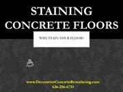 Concrete Staining MO