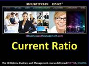 IB Business and Management - Current Ratio