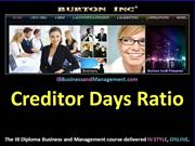 IB Business and Management - Creditor Days Ratio