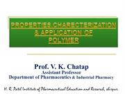 2Characterization of Polymer