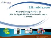 zslmobile - Mobile App & Mobile Web Development Services
