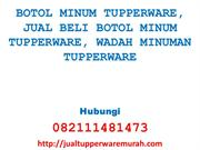 BOTOL MINUM TUPPERWARE, JUAL BELI BOTOL MINUM TUPPERWARE