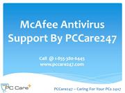 PCCare247 - McAfee Antivirus Support to Install, Uninstall and Update