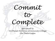 Commit to Complete