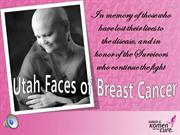 Utah Faces of Breast Cancer