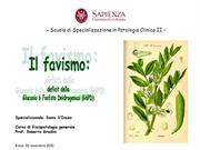 Favismo - Dr S D'Inzeo