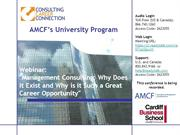 Management Consulting: Why is it Such a Great Career Opportunity