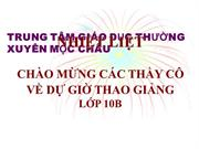 Ls10 T46 BAI 36 SU HINH THANH VA PHAT TRIEN CUA PHONG TRAO CONGNHAN