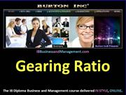 IB Business and Management - Gearing Ratio